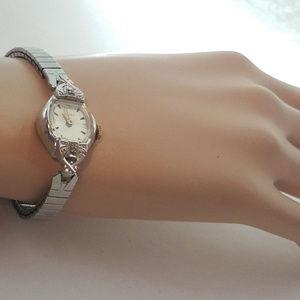 RETRO Timex Diamond chips Vintage Ladies WATCH